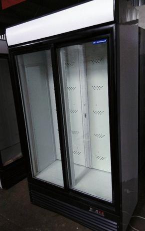 Холодильний шкаф - купе б/у вітрина. Скляні двері розсувні