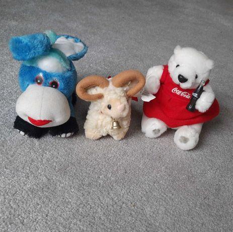 6 małych pluszowych zabawek