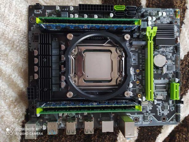 Комплект Kllisre X79 2.82 E5 2650 RAM 16Gb