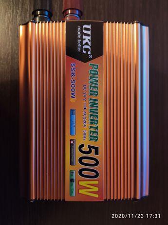 Перетворювач напруги UKC 500W 24V