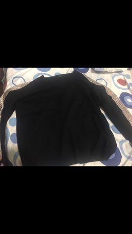 Camisola Preta com brilhantes manga comprida Atmosphere 44