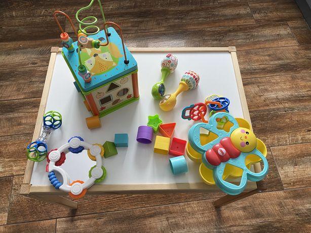 Zestaw zabawek dla małych dzieci