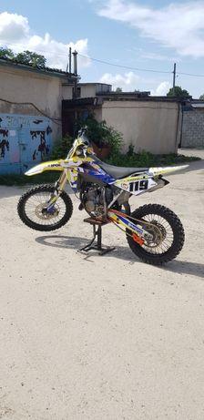Мотоцикл, ktm, honda, husqvarna cr125 крос