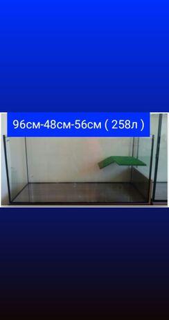 Новый террариум(аквариум) для черепахи на 280л.Доставка по Украине.