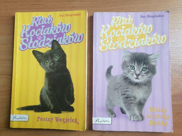 Klub kociaków słodziaków - 2 książki dla dzieci