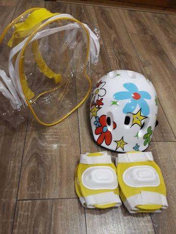 Шлем и защита для рук и ног