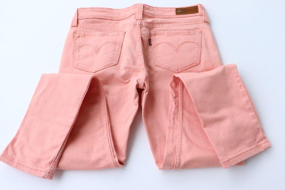 Damskie spodnie jeansy Levi's Demi Curve Low Rise Skinny r. 28 M Levis Węgierska Górka - image 1