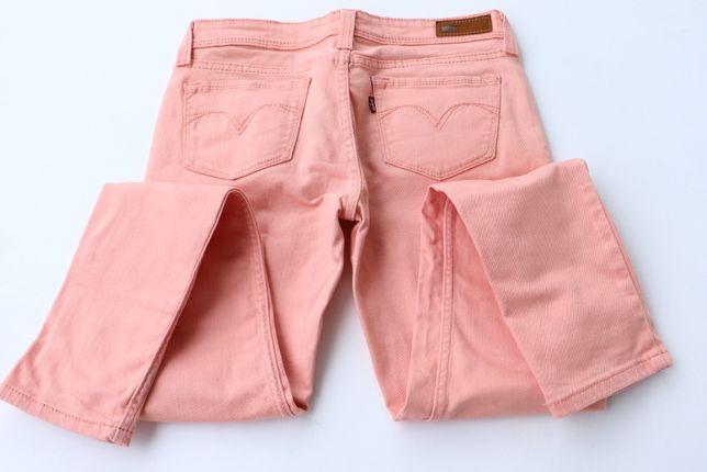 Damskie spodnie jeansy Levi's Demi Curve Low Rise Skinny r. 28 M Levis