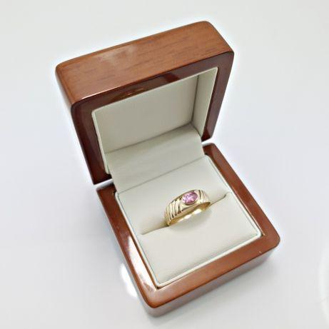 Złoty pierścionek 585 3,06g r.18 - Plus Lombard