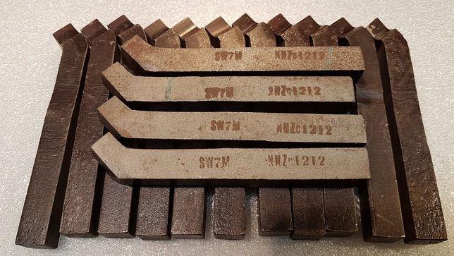 Noże tokarskie NNZc 12x12 i wiertła 23;17,5;13,5;12,6;12,3