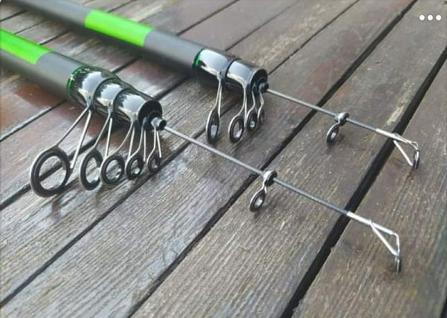 Удочка с кольцами карбон Sams Fish Winner SF24092 4.0 м 15-40г