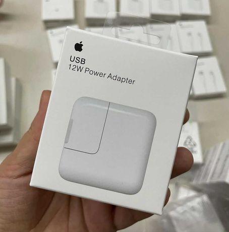 Apple Power Adapter адаптер 12W Быстрая зарядка блок iphone 2/4 ipad