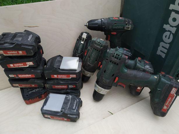 Шуруповерт Metabo bs 18 и 14.4 батареи метабо 18 и 14.4 вольт АКБ