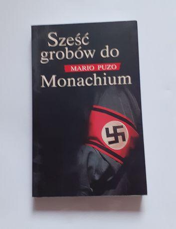 """""""Sześć grobów do Monachium""""- Mario Puzo"""