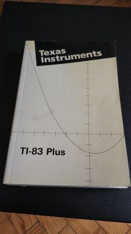 Manual Máquina Calculadora Gráfica Texas Instruments TI-83 Plus