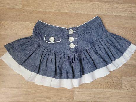 Продам джинсовую летнюю юбку на подростка, размер 8, Denim Co