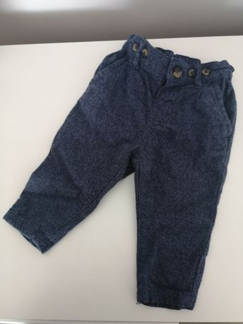 Spodnie chlopiece 74