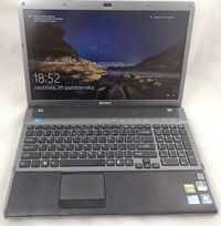 "Laptop SONYVaio 16,4"" i7 8x1,73GHz/4GB/SSD/BluRay/GT300M 1GB USB3 HDMI"