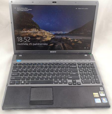 "Laptop SONYVaio 16,4"" i7 8x1,73GHz/4GB/1TB/BluRay/GT300M 1GB USB3 HDMI"
