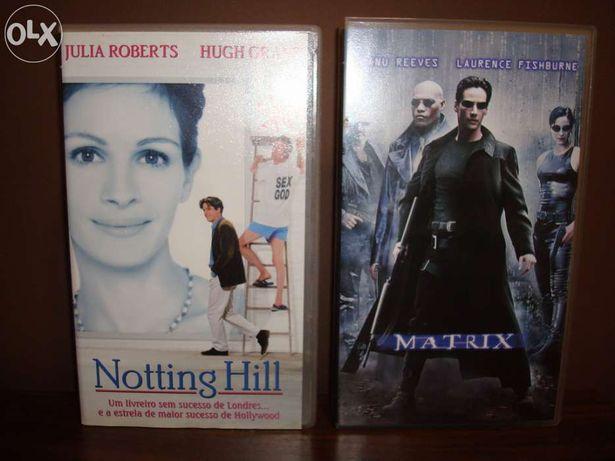 2 Filmes em VHS originais - Matrix...