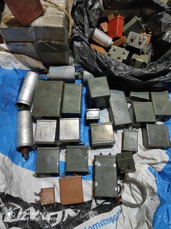 Продам металло-бумажные конденсаторы