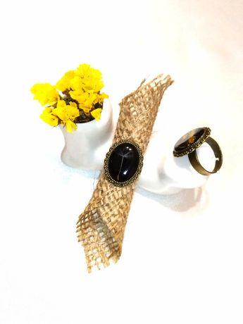 Кольцо с настоящими цветами, каблучка, одуванчик