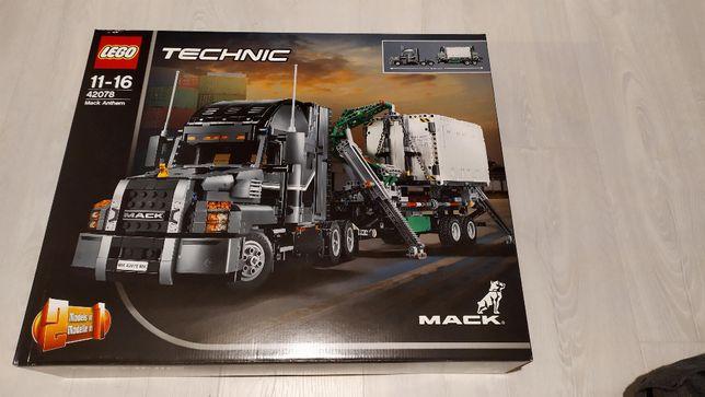 Lego Technic 42078 MACK Anthem - nowy, plomby producenta