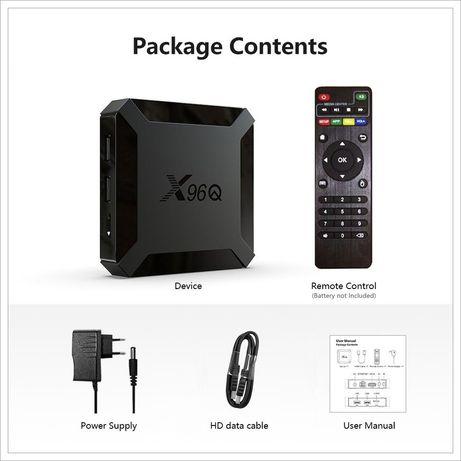 TV box 2GB/16GB, android 10 nova na caixa...