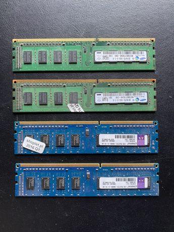 Pamięć RAM | Samsung Kingston | 2GB | 4 sztuki