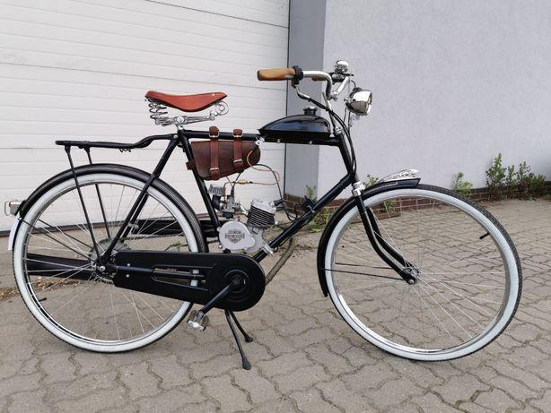 Rower RETRO ręcznie składany, z silnikiem spalinowym!