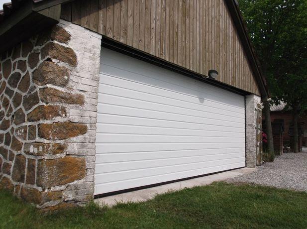 Секционные гаражные ворота GANT доступно и надежно.