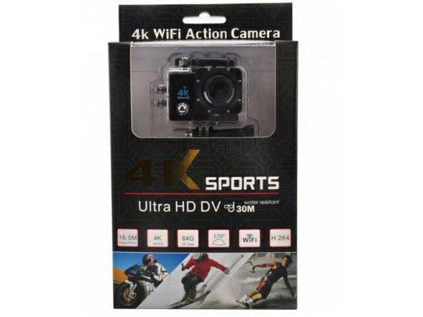 kamera sportowa 4k, wifi +akcesoria Nowa
