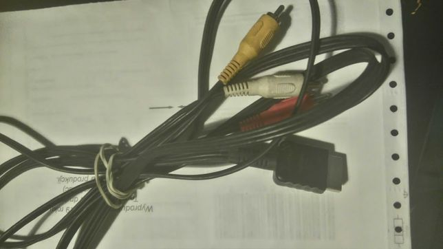 Play Station kabel do polaczenia konsoli ps1,ps3 i ps3 z tv