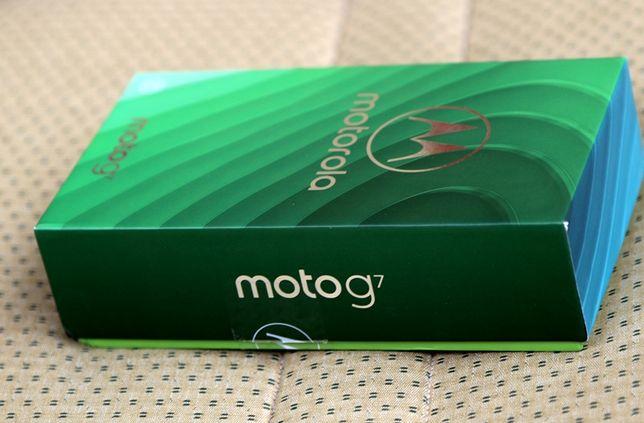 Motorola G7 nowa !