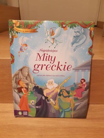 NOWA Najpiękniejsze mity greckie Opowieści ze złotą wstążką