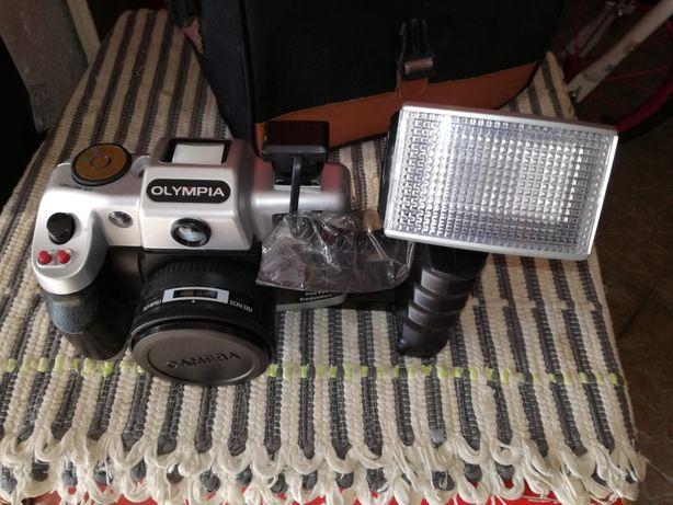 Máquina fotográfica antiga para coleção nunca usada