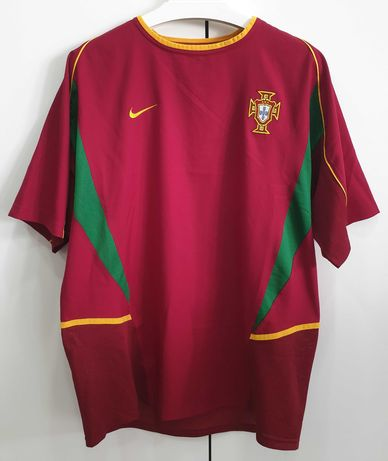 Camisola Seleção Nacional – Portugal 2002-04 – Tamanho L
