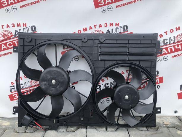 Дифузор радиатор вентеляторы Volkswagen Passat B7 usa
