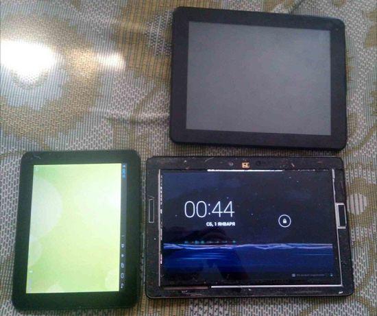 Отдам 3 планшета вместе за 550 грн
