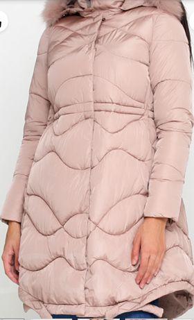 Пудровая демисезонная куртка Monte Cervino