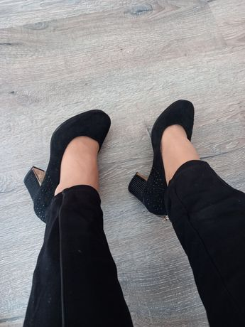 Туфлі  еко замш  останні пари  розпродаж 36 37