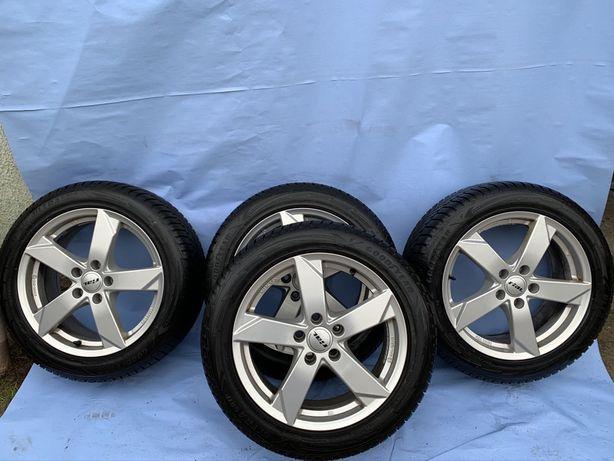 Комплект зима диски 5x112 резина 225/50/R17   Audi A4 Skoda Octavia