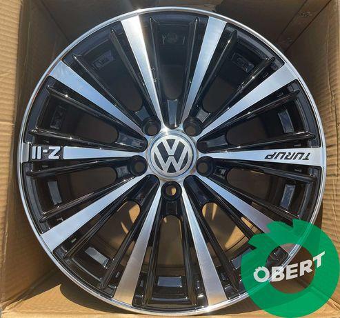 Новые диски 5*100 R15 на Vw Polo Golf Skoda Fabia Rapid