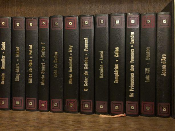 """Coleção livros """"Os grandes julgamentos da História"""""""