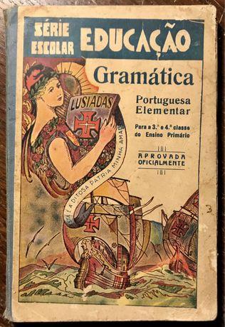 Gramática Portuguesa Elementar de António Figueirinhas