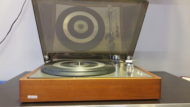 Gramofon Lenco L 85 w drewnie