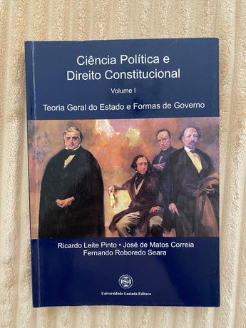 Ciência Politica e Direito Constitucional, V.I