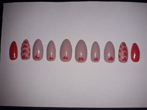 Tipsy handmade press on nails