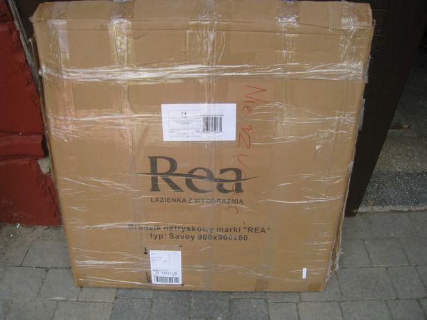 Brodzik prysznicowy Rea SAVOY 90x90x6 cm + syfon