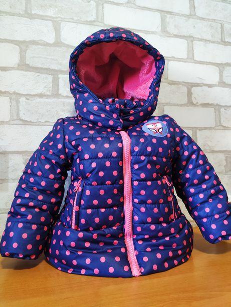 Курточка на девочку зимняя